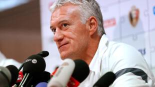 Le sélectionneur de l'Equipe de France Didier Deschamps.