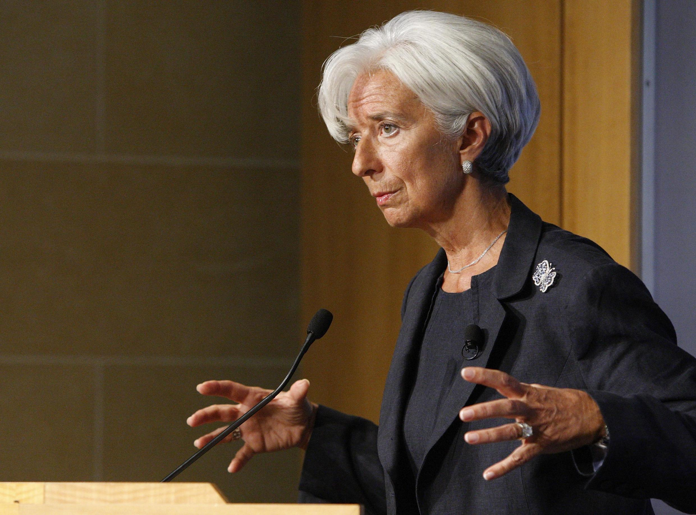 Christine Lagarde deu entrevista a revista portuguesa.