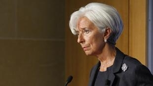 Christine Lagarde, Directora geral do FMI