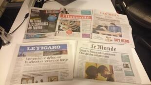 Diários franceses 20.09.2016