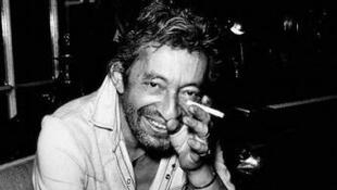 Serge Gainsbourg, one of France's most famous singers