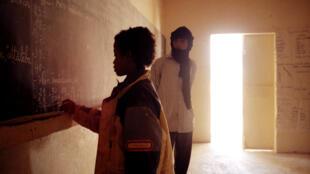 Dans une école dans un village au nord du Mali. (image d'illustration)