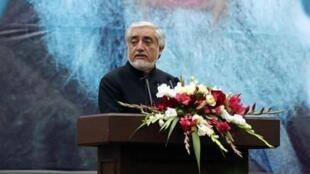 Afghanistan-abdullah Abdullah