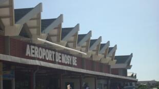 Aéroport de Nosy Be, Madagascar.