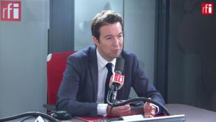 Guillaume Peltier, vice-président délégué des Républicains sur RFI, le 19 novembre 2019.
