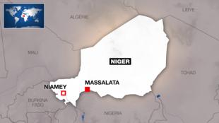 Massalata, kilomita 400 mashariki mwa Niamey karibu na mpaka na Nigeria.