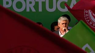 Incumbent Portuguese prime minister Jose Socrates