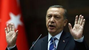 Le président turc, Recep Tayyip Erdoğan.