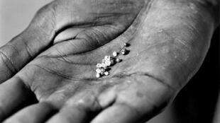 Le diamant, un mineral rare.