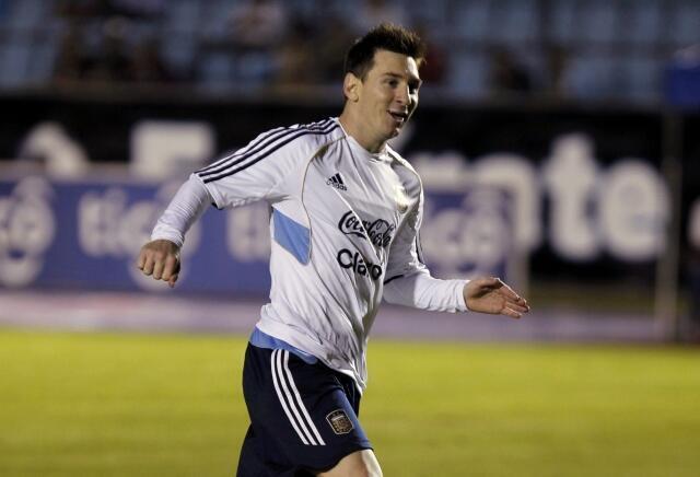 O atacante do Barcelona, Lionel Messi