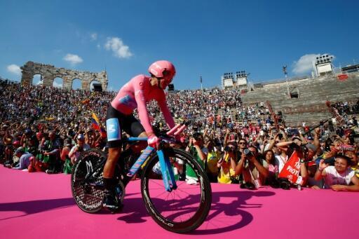 В прошлом году победителем Джиро д'Италия стал эквадорец Ричард Карапас.