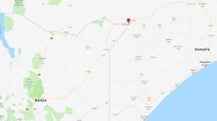 La ville de Mandera se trouve au nord du Kenya, à la frontière avec la Somalie et l'Éthiopie.