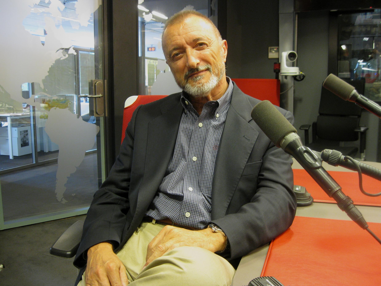 Arturo Pérez-Reverte en RFI.