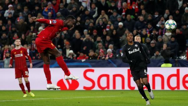L'ouverture du score de Naby Keïta pour Liverpool contre le Red Bull Salzsbourg.