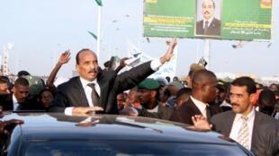 President Mohamed Ould Abdel Aziz returns to Nouakchott on 24 November