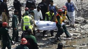 Rescue workers continue to search for survivors of the blast