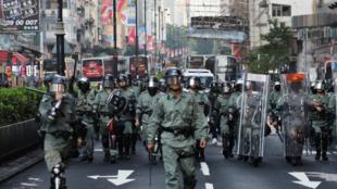 香港警察资料图片
