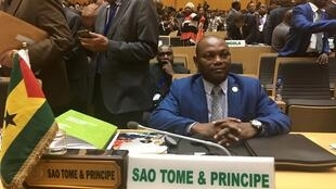 Urbino Botelho, ministro dos Negócios Estrangeiros da São Tomé e Príncipe
