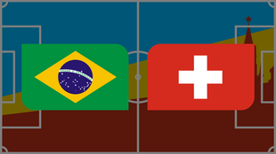 Coupe du monde 2018: Vivez Brésil - Suisse en direct