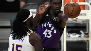Toronto forward Pascal Siakam has had surgery to repair a torn labrum in his left shoulder and will be sidelined five months, the NBA team says