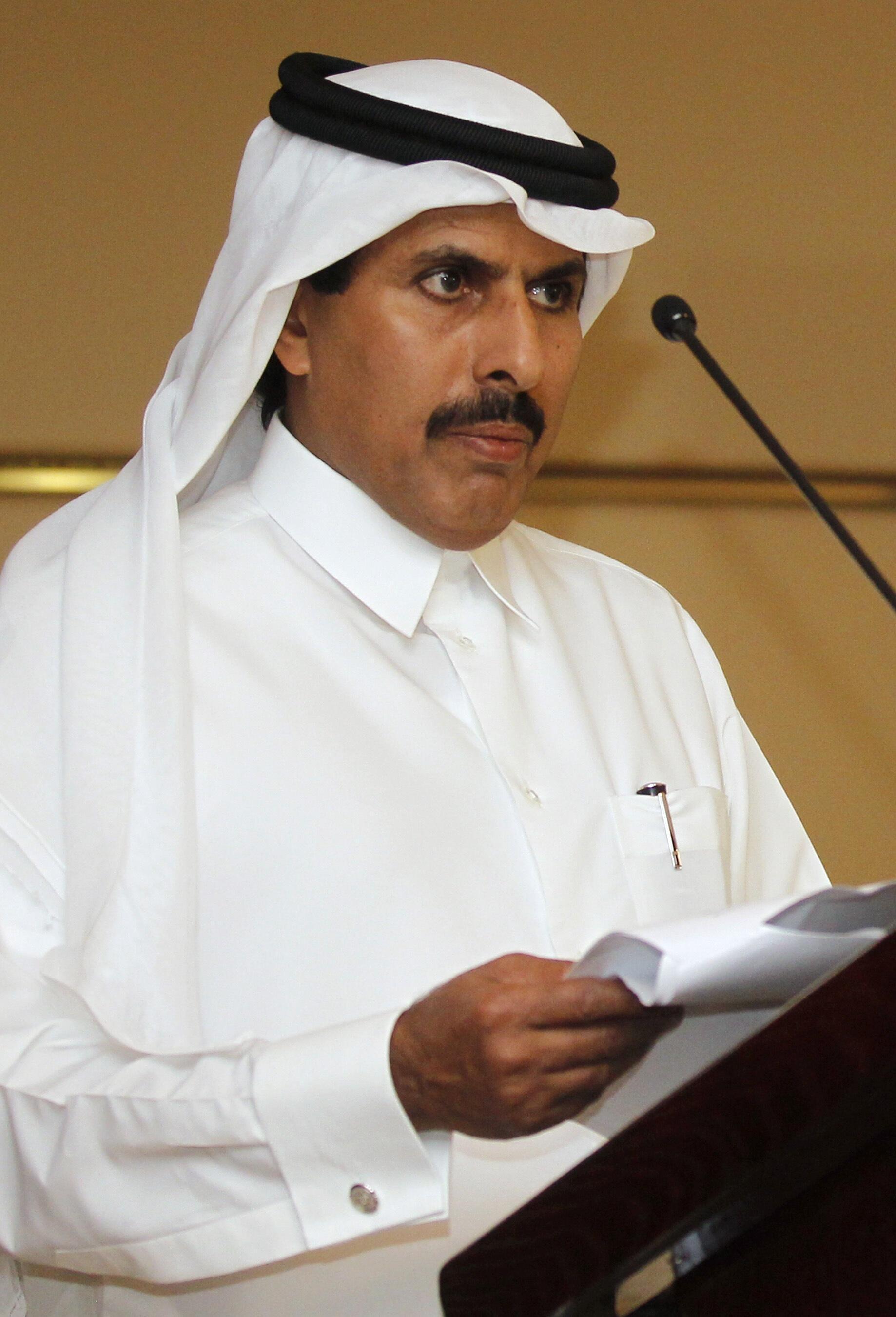 El emir de Qatar, Hamad Bin Khalifa al Thani.