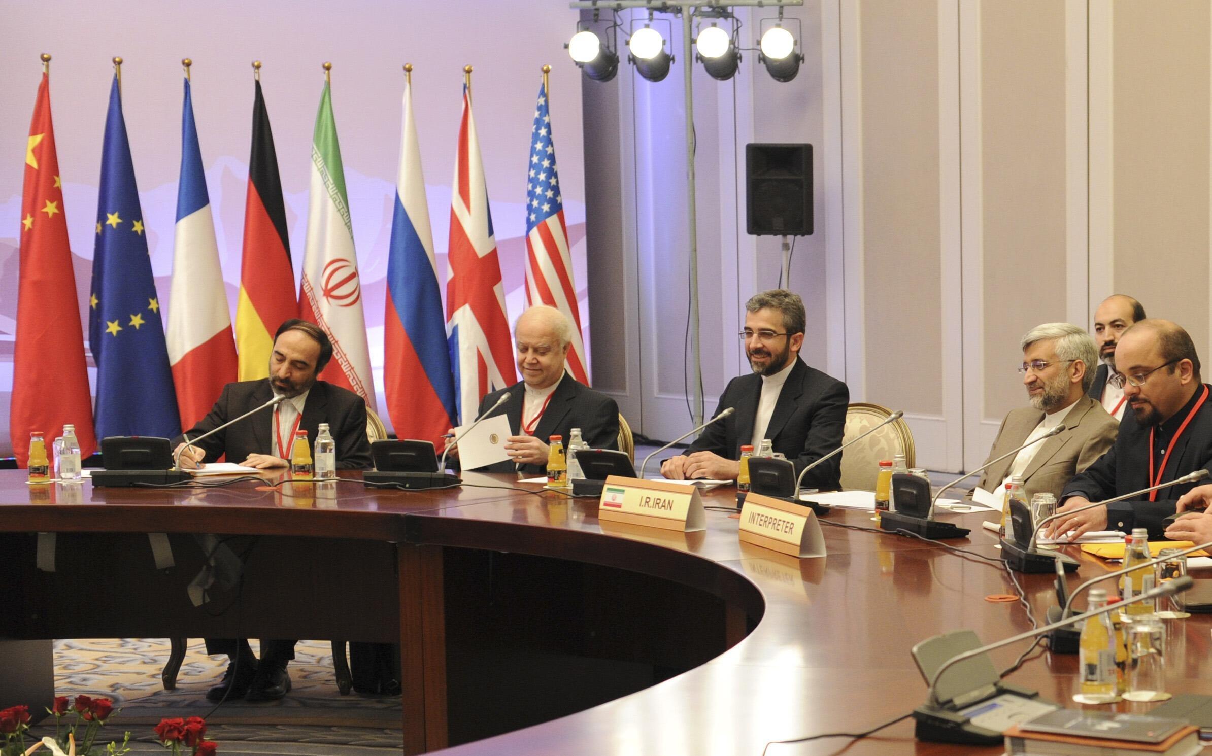 Переговоры в Казахстане между Ираном и Большой шестеркой 26/02/2013