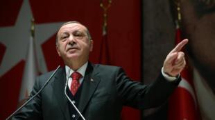 Recep Tayyip Erdogan s'est entretenu avec plusieurs dirigeants de pays musulmans.