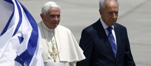 Визит папы Бенедикта XVI в Израиль 11/05/2009 (архив)