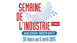 Logo de la Semaine de l'industrie 2015.
