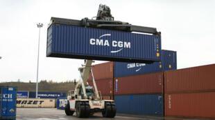 شرکت CMA-CGM یکی از بزرگترین شرکتهای بابری توسط کانتینر است