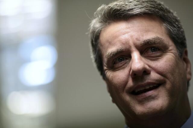 O diplomata brasileiro Roberto Azevêdo