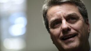 O diplomata brasileiro Roberto Azevedo