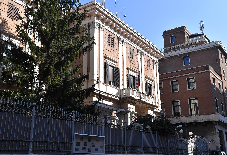 italie espionnage russie ambassade russie Rome