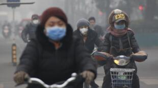 Pékin, décembre 2015.