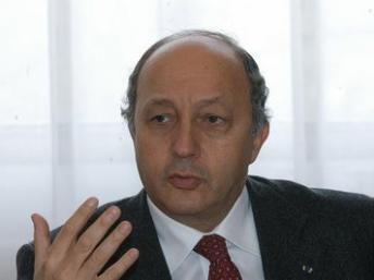 Laurent Fabius- وزیر امور خارجه فرانسه
