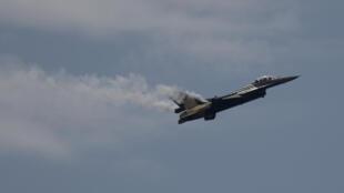 Les raids ont été menés par des F-16 de l'armée de l'air turque (ici lors d'une présentation en Espagne en 2015).