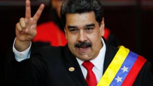 委内瑞拉官派总统马杜罗资料图片