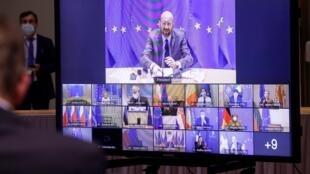 Conselho Europeu virtual de 21 de Janeiro de 2021.