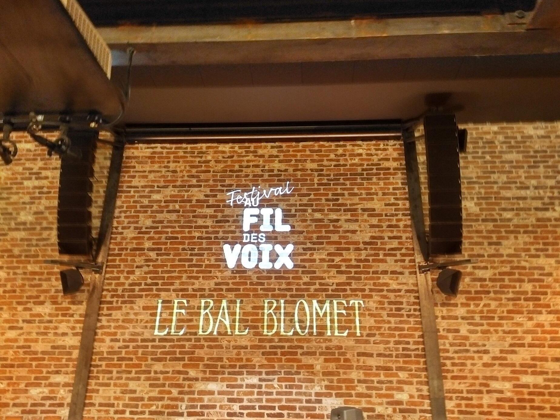 """El Bal Blomet acoge algunos festivales musicales como """"Fil de Voix"""", en el que participó el guitarrista Chicuelo. París, 15 de febrero de 2019."""
