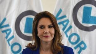 Zury Ríos, hija del fallecido exdictador Efraín Ríos Montt, es una de las tres mujeres que encabezan las intenciones de voto.