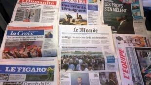 Diários franceses 18/05/2015