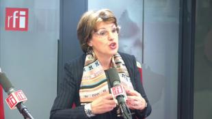 Annie Genevard sur RFI le 6 novembre 2019.