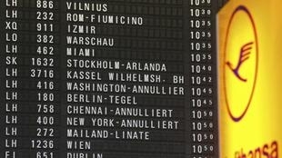 Greve dos tripulantes da Lufthansa pode durar uma semana.