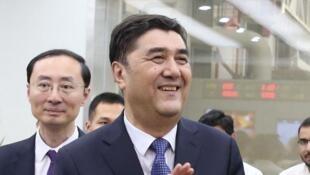 前中国发改委副主任和国家能源局长努尔·白克力