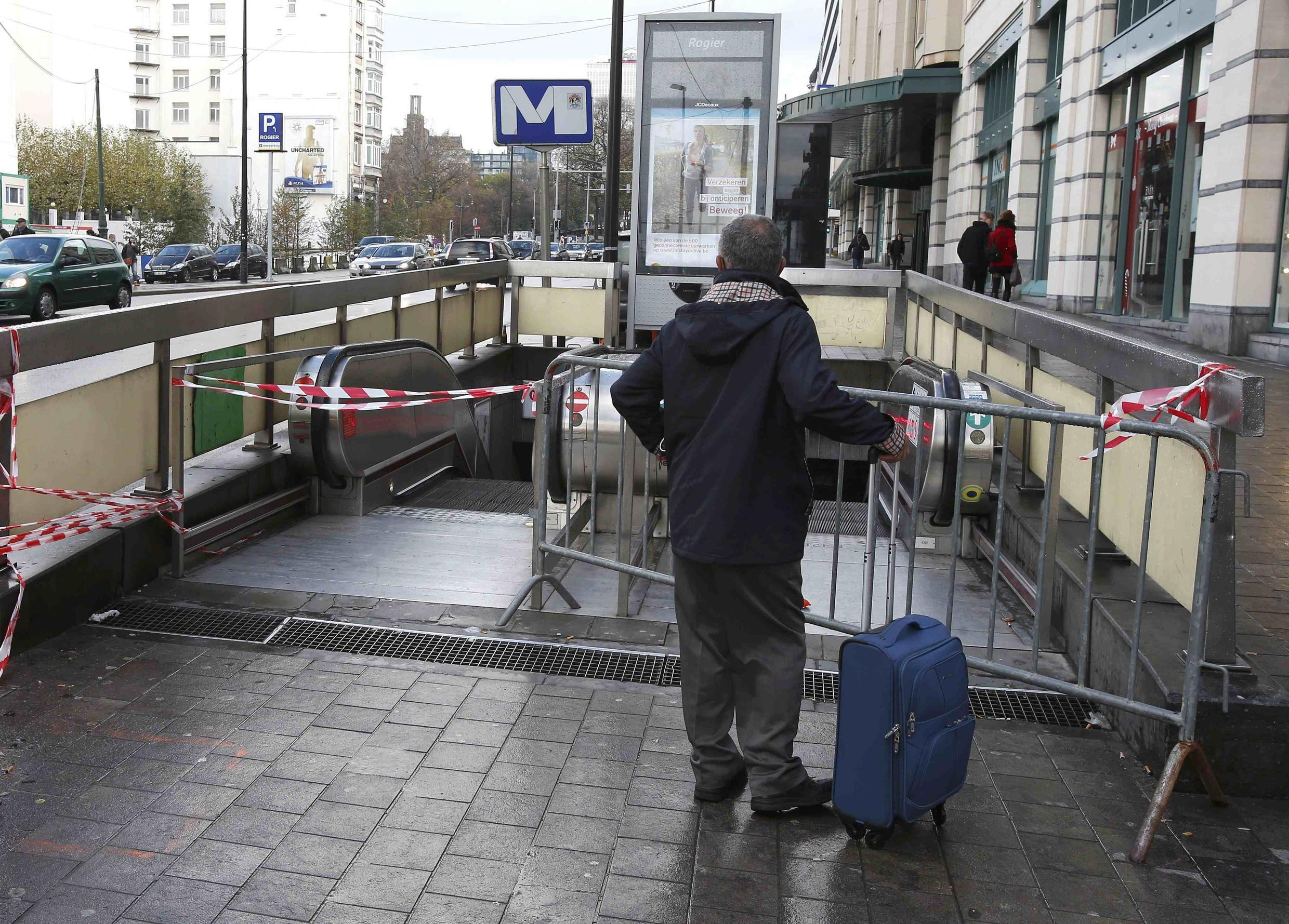 Brussels métro stations closed after the 2016 atttacks