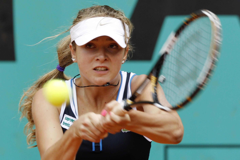 Элина Свитолина в финальной встрече с теннисисткой Онс Жабер. Ролан Гаррос, 6 июня 2010.