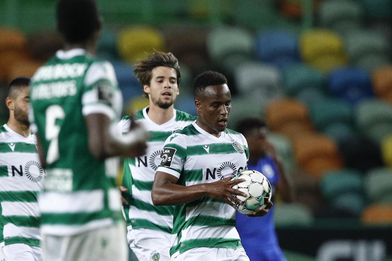 Jovane Cabral - Futebol - Desporto - Cabo Verde - Portugal - Liga Portuguesa - Sporting CP - Sporting Clube de Portugal - Football