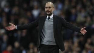 Kocin Manchester City, Pep Guardiola.