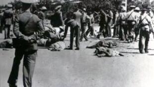 O massacre em 1959 de cerca de 50 estivadores do Porto de Pindjiguiti