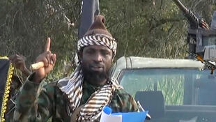Shekau in a screen grab from a video released by Boko Haram